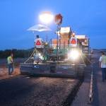 West Virginia Paving: Vogele 1110RTB